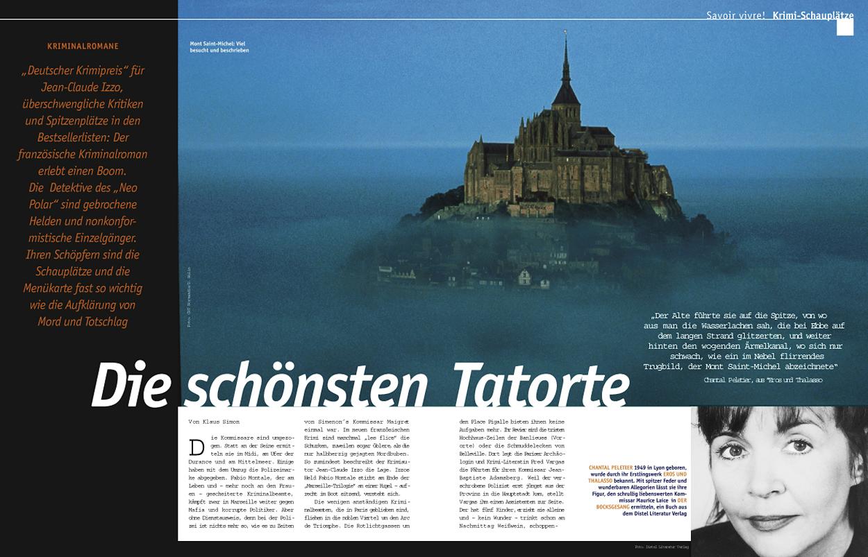 Layoutseiten Frankreich entdecken