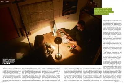 FREELENS Magazin #31, Fiktive Reportage über Prioritäten im In