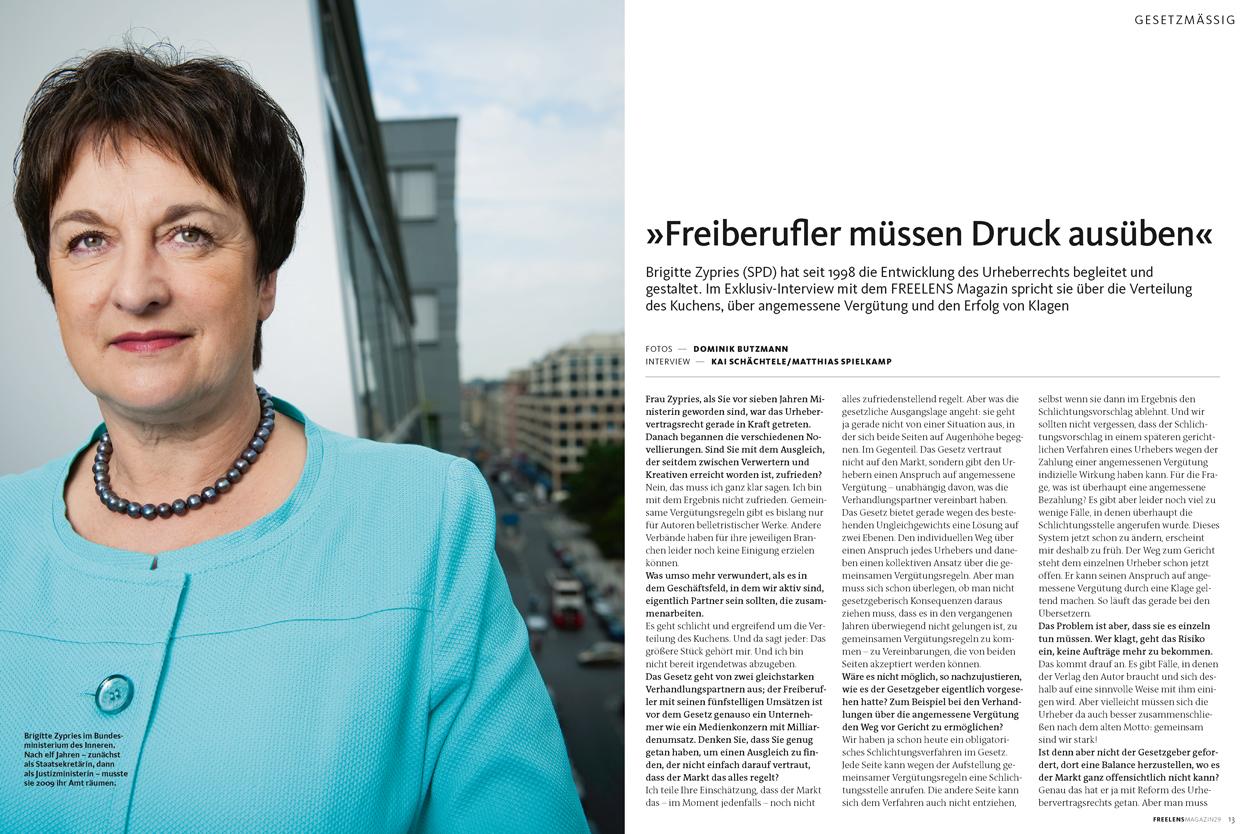Interview Brigitte Zypries