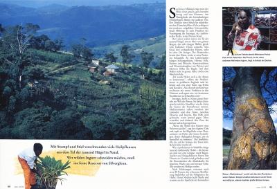 In Südafrikas Tal der tausend Hügel helfen die Inyangas mit Naturheilmitteln bei gesundheitlichen Problemen