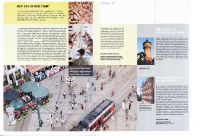 Planung für den Umbau des Hallenser Marktplatzes