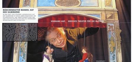 Gudrun Haefke: Puppenspielerin und Direktorin des Figurentheater Anna-Sophia